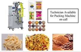 Packing Machine Technician Available on call