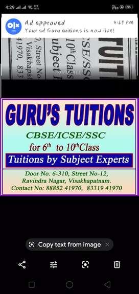 Guru tuitions