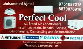AIR CONDITIONER WASHING MACHINE FRIDGE  LED TV REPAIR SERVICE.