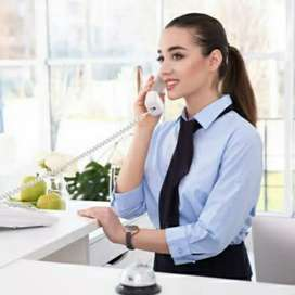 Required for receptionist and frant office