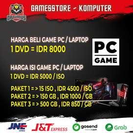 ISI GAME DAN JUAL GAME PC/LAPTOP, PS3, PS4