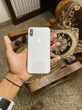 I phone x 64gb white color