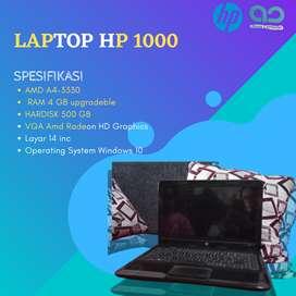 JUAL CEPAT LAPTOP HP 1000 HARGA MURAH