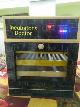 160 Eggs Fully Automatic Incubator With  Rolling Tray