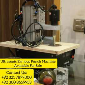 ULTRASONIC PUNCHING Machine Available for Sale