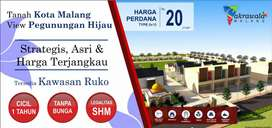 Tanah Kavling Murah Malang, Dekat Pasar Duwur SHM Split