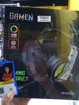 Headset gaming gamen GH1500