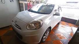 Nissan March 1.2 A/T Tahun 2011 Putih Original Km 70 Rb