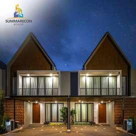 Rumah di kota mandiri Summarecon Bogor, view bukit dan pegunungan,
