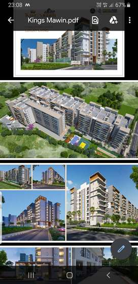 3 & 4  luxurious BHK Apartments in gate community with full amenities