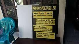 tempat pesan papan nama neon box reklame advertising murah Sukoharjo