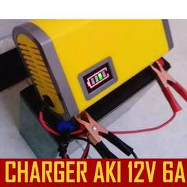 Portable Cas Aki Mobil Battery Charger