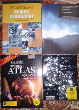 UPSC GEOGRAPHY COMPLETE SET OF 6 BOOKS
