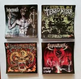 Sticker Vinyl Full Color Band Rock Metal