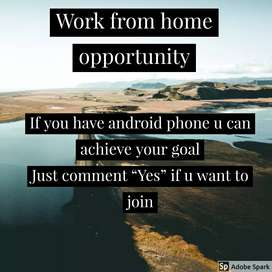We provide online business from home