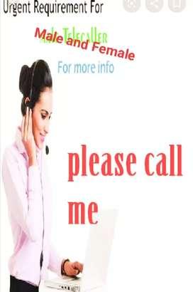 Urgent requirement in telecaller