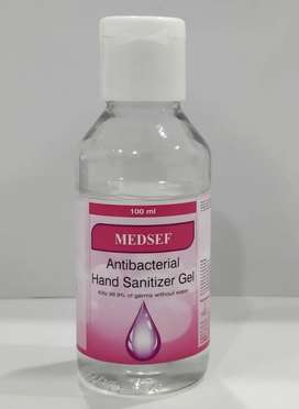 3 ply face mask and sanitizer available