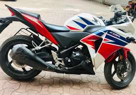 CBR 250R in good condition. 24000km only driven.