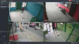 KAMERA CCTV SIAP PASANG 2 CHANNEL BERGARANSI