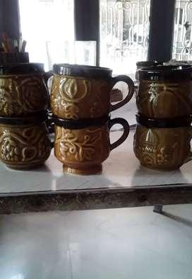 Ceramic 8 Dozen (96 Pieces) Small Chirag Cups