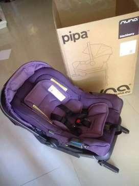 CarSeat merk NUNA Pipa ( Warna Blackberry)