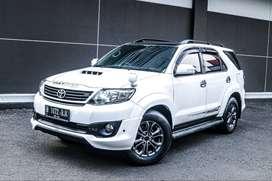 Toyota Fortuner G VNT TRD Matic 2014 Diesel Cash 270 jt jt