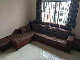 Brown colour 6+2 seater sofa set
