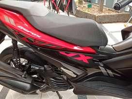 Aerox 155 Merah Hitam