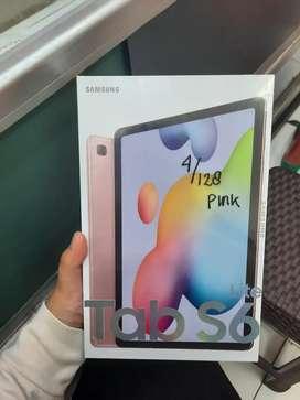 COD / Kredit Samsung Galaxy Tab S6 Lite 128Gb Pink BNIB SEIN