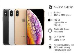IPHONE XS 64GB & 256GB
