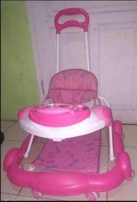 Sepeda anak 1SET Stoller mobil aki baby walker