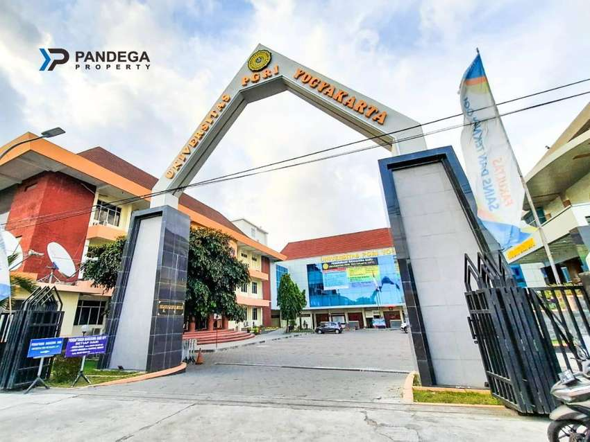 Tanah SHMP Cocok Kost, Usaha Tepi Jalan Raya di Jl. IKIP PGRI Bantul 0