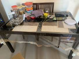 Center Table and Dining Table without chair