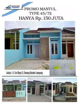 Rumah komersiil clouster syariah bandar Lampung