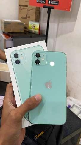 Iphone 11 64 ibox resmi bh 99% like new