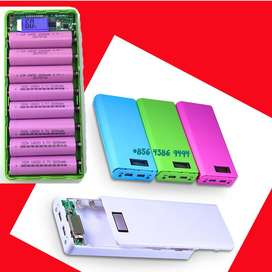 REAL +PowerFull ^Casing Modul Siap Pakai => Casing Powerbank 5-8 slot