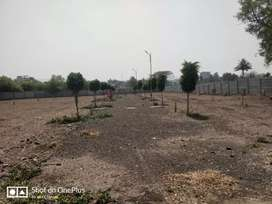 Residential bungalow open plots for sale in manjari