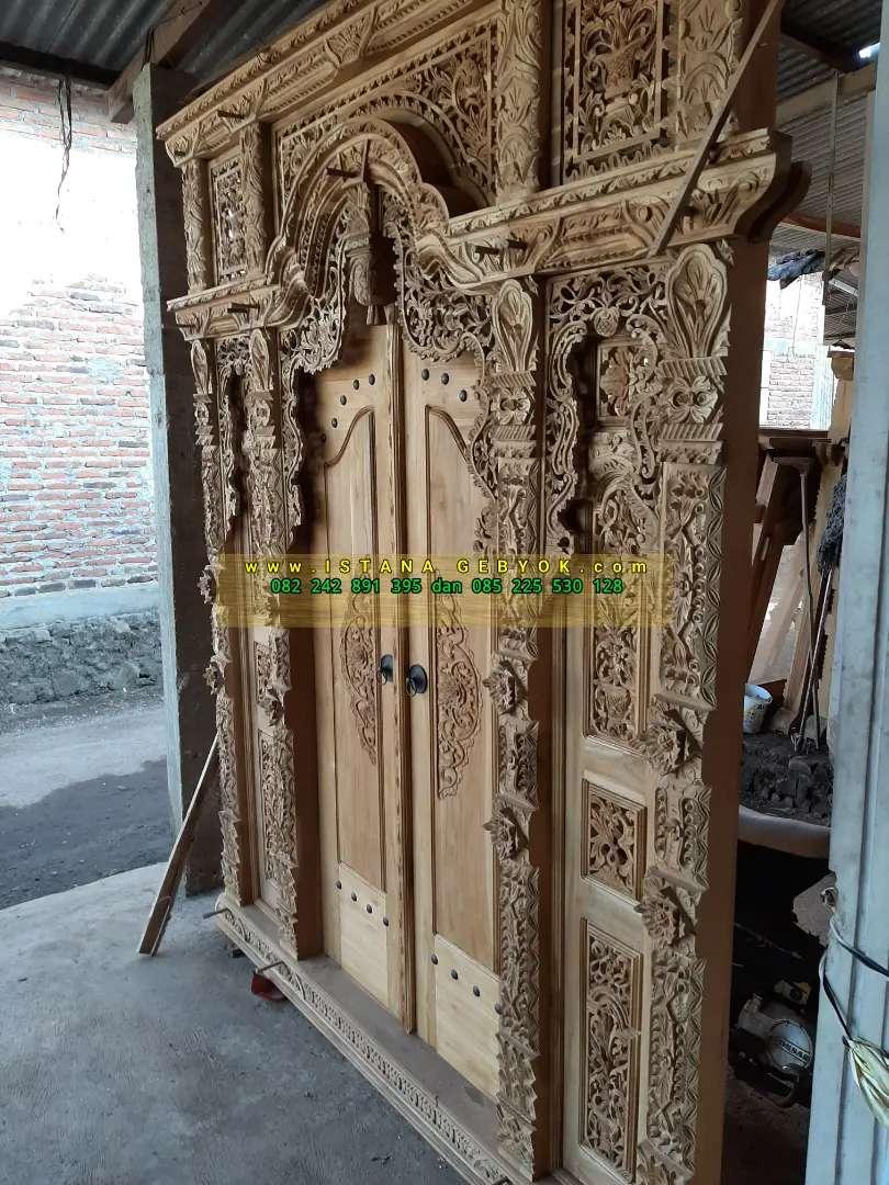 cuci gudang pintu gebyok gapuro jendela rumah masjid musholla yusan