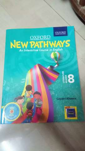 English 8 th Class New pathways Literature Reader for CBSE