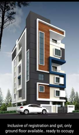 Individual 3bhk Flats@SujathaNagar, only 2 flats left