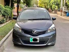 TOYOTA VITZ 1000cc 2016 on easy installment