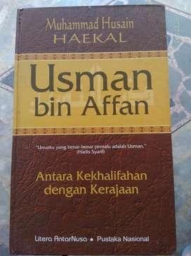 Usman bin Affan (Muhammad Husain Haekal, Litera AntarNusa)