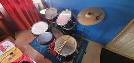 Tama RM52KH5 Rhythm Mate Acoustic Drum Kit (Black) w/ Paiste Cymbals