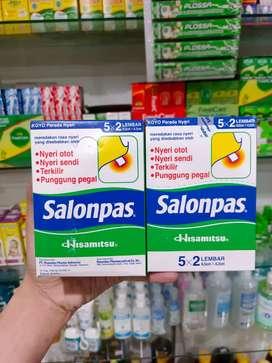 SALONPAS BOX ISI 10 PACK (100 LEMBAR)