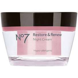 BOOTS No7 Restore & Renew Night Cream