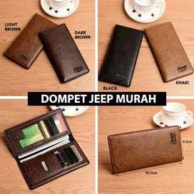 Dompet kulit Jeep Import Batam Murah