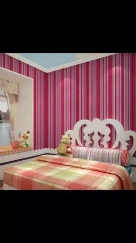 Jual Wallpaper dinding berbagai motif