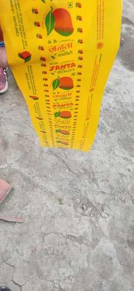 Mango juice  rolls