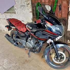 Pulsar 220 F all papers are available, good Condition