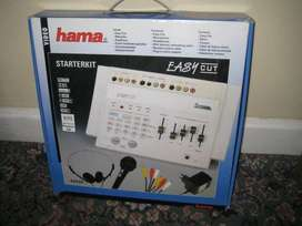 UK Imported HAMA VIDEO EDITING COMPUTER STARTER KIT EASY CUT